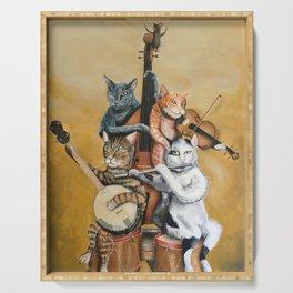 Cat Quartet Serving Tray