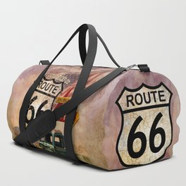 Get your Kicks on Route 66 Duffle Bag
