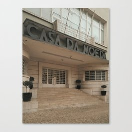 Lisboa Art Deco #04 Canvas Print