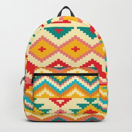 Colorful Native Aztec Backpack