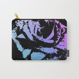 Splattered Rose Carry-All Pouch