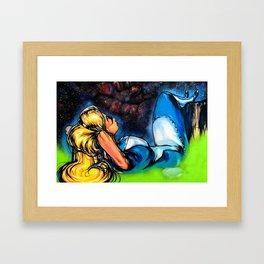 Wonderland Dreaming Framed Art Print