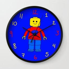 Mr. lego Wall Clock