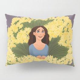 1000 Yellow Daisies Pillow Sham