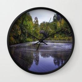Autumn Betws y Coed Wall Clock