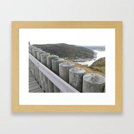 NEAR THE WATCHTOWER Framed Art Print