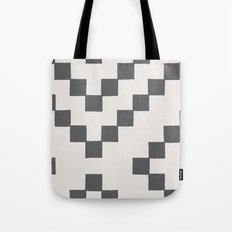 Tiles - in Charcoal Tote Bag