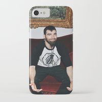 kevin russ iPhone & iPod Cases featuring Kevin by moriahaslan