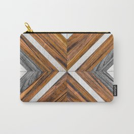 Urban Tribal Pattern 4 - Wood Carry-All Pouch