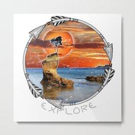 Explore The Island Metal Print