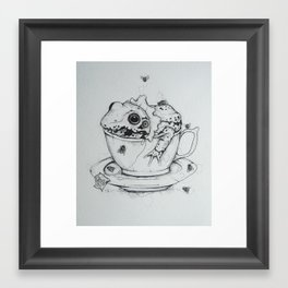 Green Tea Framed Art Print