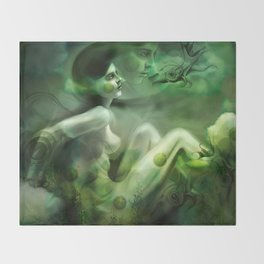 Aquatic Creature Throw Blanket