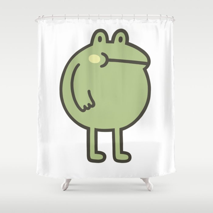 Awesome Frog Shower Curtain