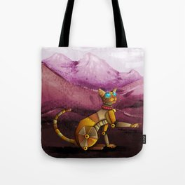 Steam kitty Tote Bag