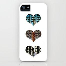 I Love Birds No.1 iPhone Case