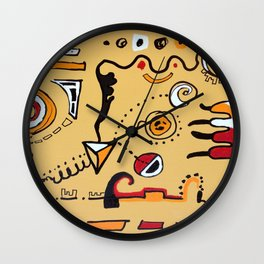 A Little Abstract Wall Clock
