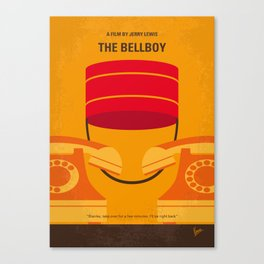 No977 My The bellboy minimal movie poster Canvas Print
