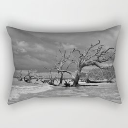 Driftwood Beach 2 Rectangular Pillow