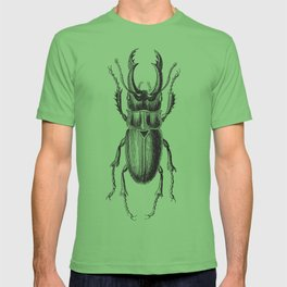 Vintage Beetle black and white T-shirt