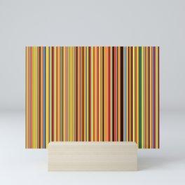 Old Skool Stripes - Bold Mini Art Print
