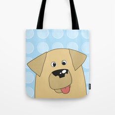 Labrador Yellow Dog Tote Bag