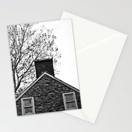 Farm House Tree Tops Stationery Cards