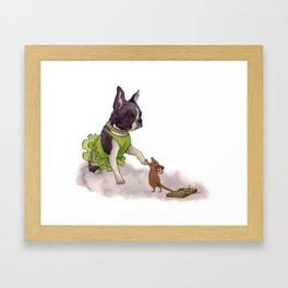 BeTti Framed Art Print