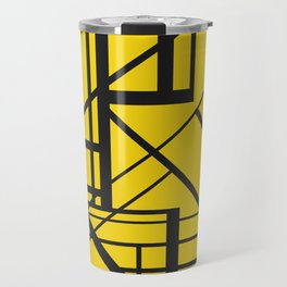 Roadway Of Abstraction - Interstate Abstract Path Travel Mug