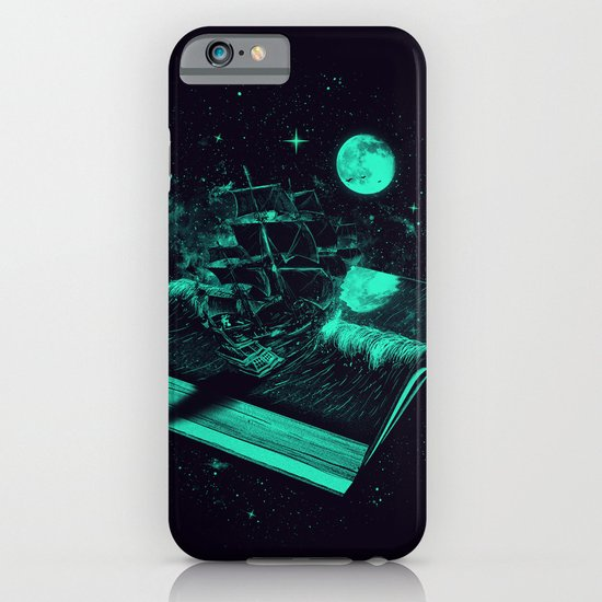 Crossing the Rough Sea of Knowledge   iPhone & iPod Case