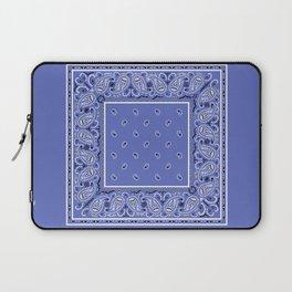 Tropical Blue Bandana Laptop Sleeve