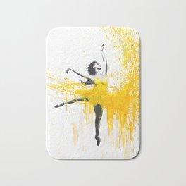 Sunflower Dance Bath Mat