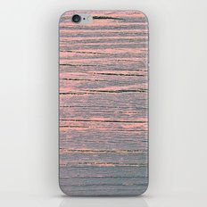 Rustic pastel weathered wood iPhone & iPod Skin