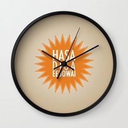 Book of Mormon - Hasa diga eebowai Wall Clock