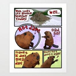 Dad Jokes Art Print