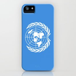 The United Nations Flag - UN Flag iPhone Case