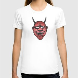 Red Hannya T-shirt