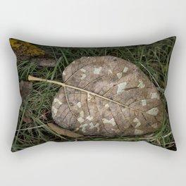Crackled Rectangular Pillow