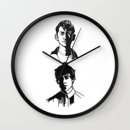 the last shadow puppets Wall Clock