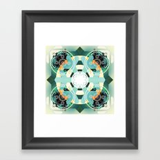 Arctic illusion Framed Art Print
