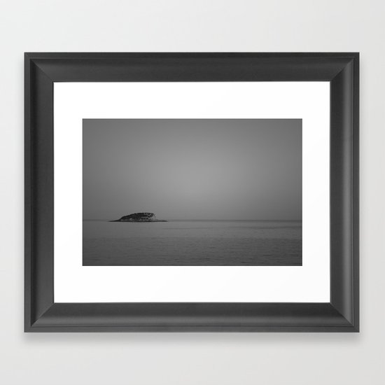 Emerged From The Sea Framed Art Print