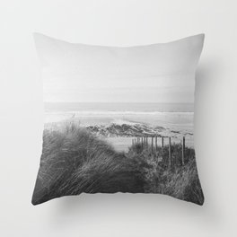 Fistral Beach Throw Pillow