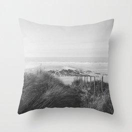Fistral Beach Throw Pillow