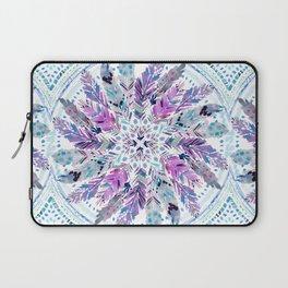 SPIRITUAL AF Feather Mandala Laptop Sleeve