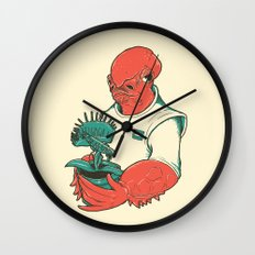 The Admiral's Trap Wall Clock
