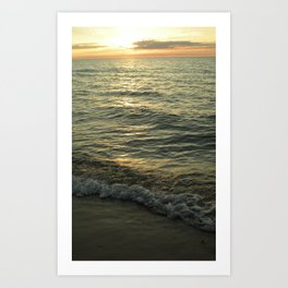 Michigan Sunset 1 Art Print