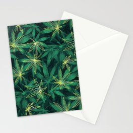 Leaf Your Worries Behind  Stationery Cards