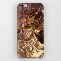 diablo iPhone & iPod Skins featuring Diablo by daniel_b_demented