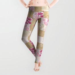 Spring Time - Patchwork Leggings