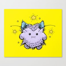 Kitty Fairy fluff Canvas Print