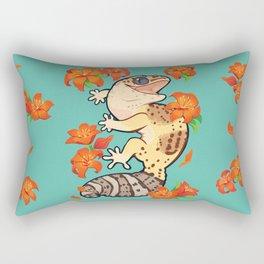 Fire lily gecko Rectangular Pillow